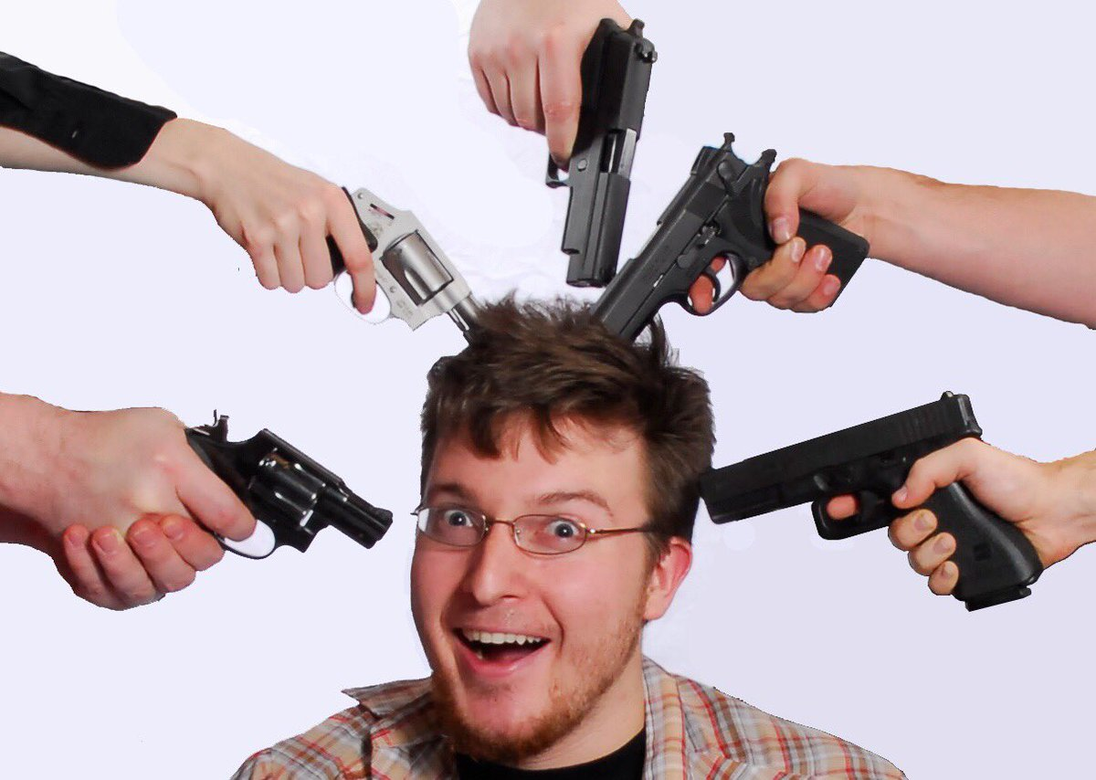 Картинки с пушкой у головы
