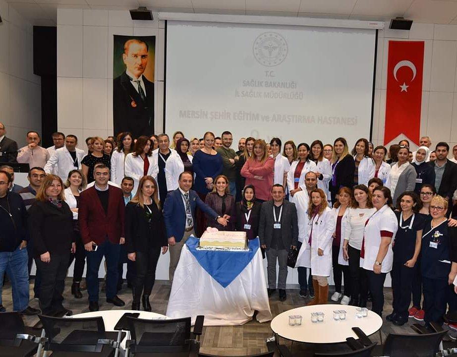 Mersin şehir Eğitim Ve Araştırma Hastanesi Ikinci Yılını Kutladı