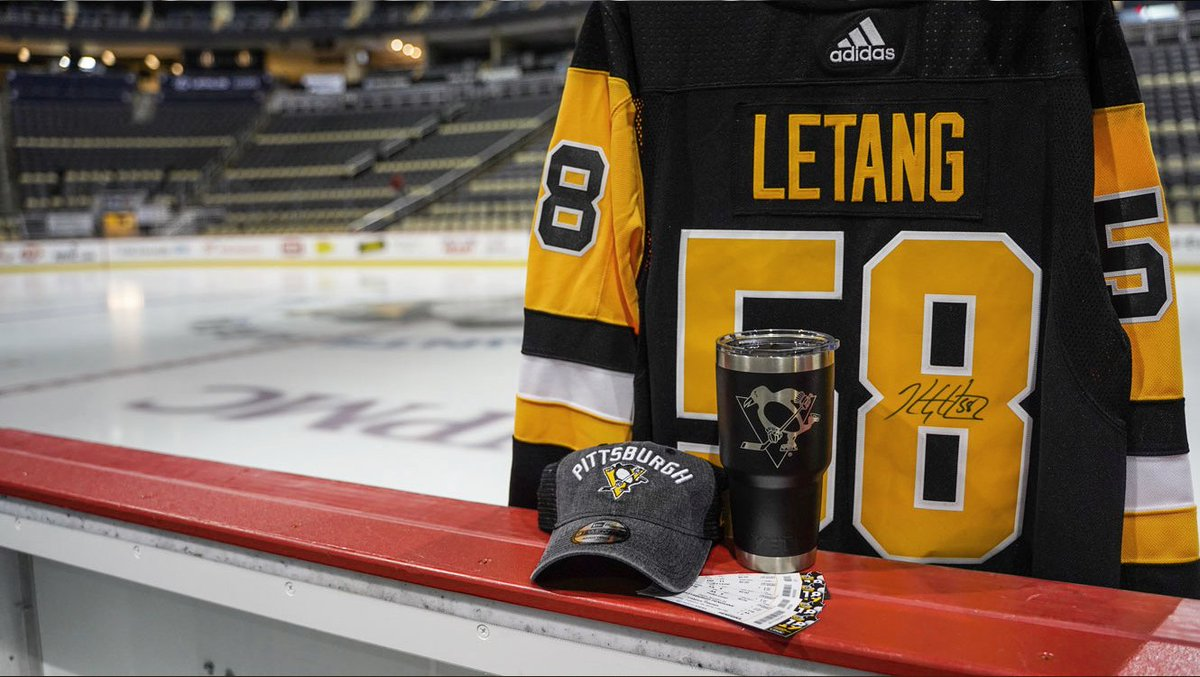 We think you'll want to win this prize pack: 1. Four tickets to the game on Feb. 21 2. Signed Letang jersey 3. Penguins Yeti mug 4. Penguins hat  All of this, courtesy of @BordasLaw.  Please RETWEET for your chance to win.  Rules:  https://t.co/hfdta03HqD