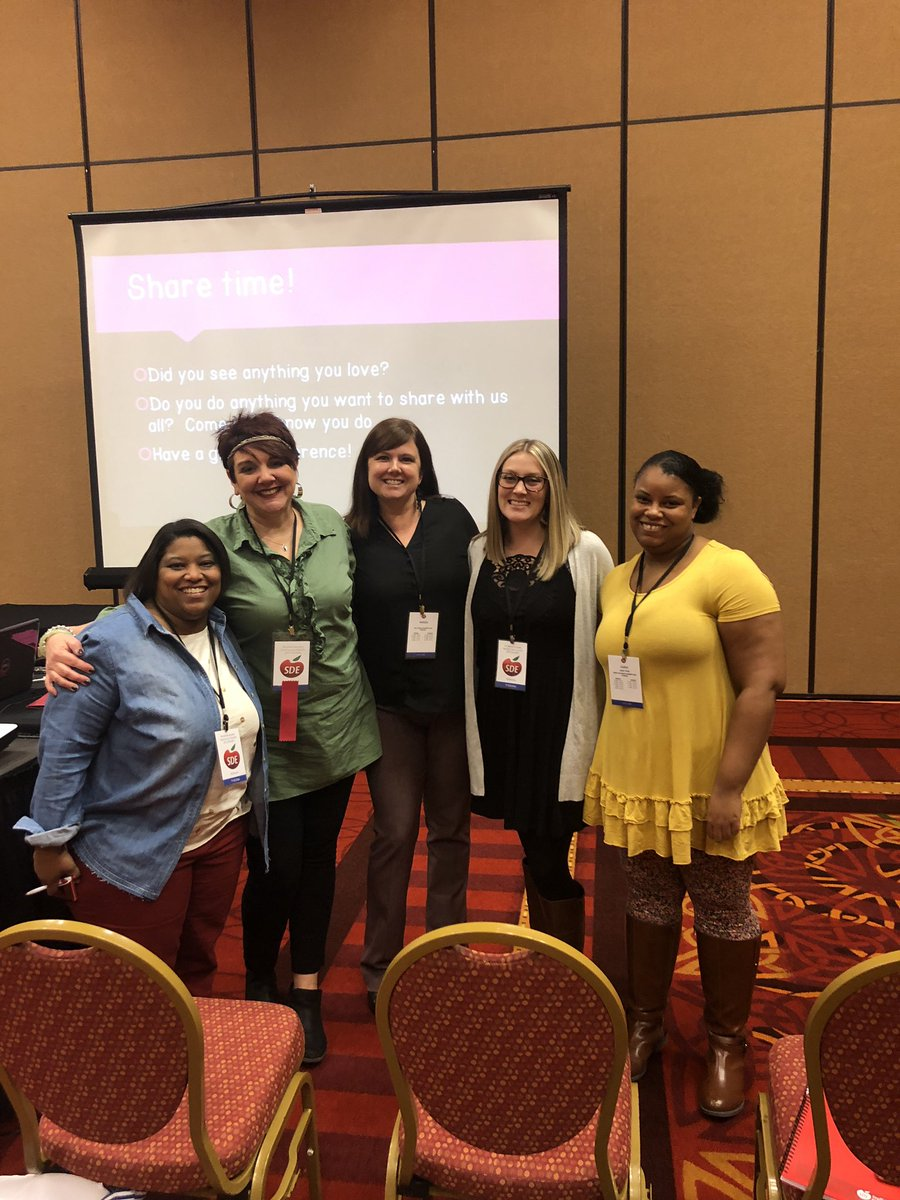 Shout out to @jamie_preK for an amazing session on providing a literacy rich environment at @SDE4Educators. #JCEProud #sdeevents @adowat311 @PreKFlamingos<br>http://pic.twitter.com/MJd1cs0hzb
