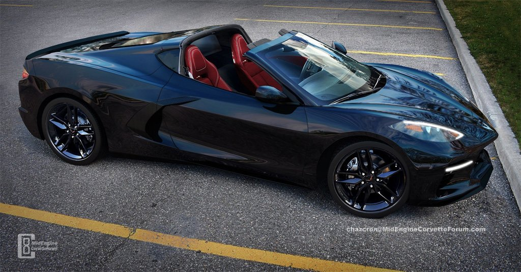 [PIC] Rendered C8 Mid-Engine Corvette with the Targa Top Removed http://ow.ly/k84b30nzN6K #Corvette #C8