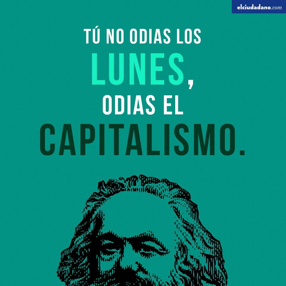 Resultado de imagen de tu no odias los lunes odias el capitalismo - origen de los días de la semana
