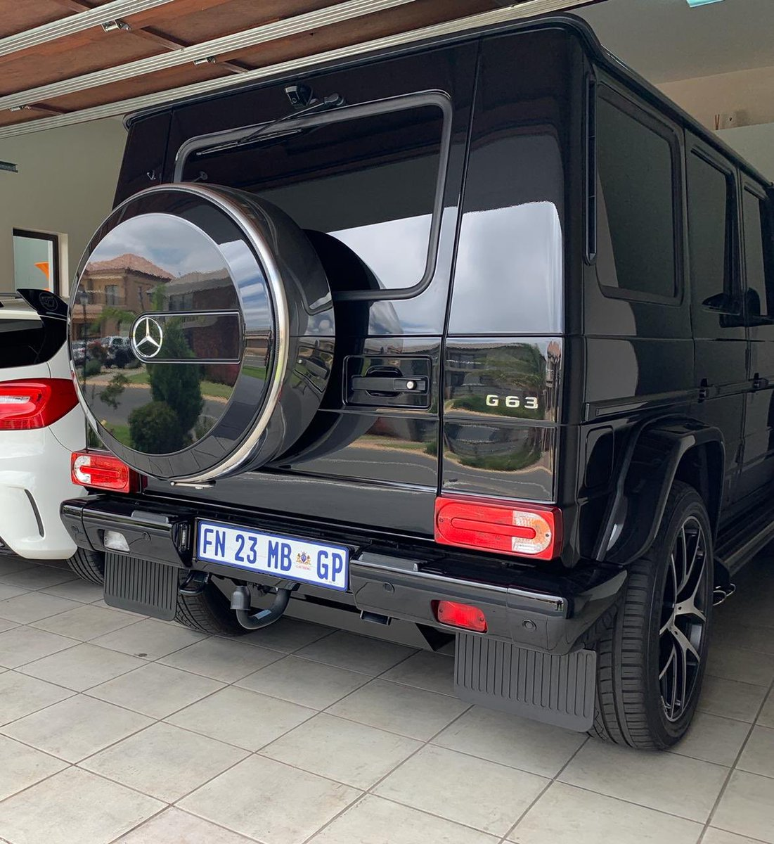 Pic! DJ Shimza's R2 Million Car Stolen In His Garage