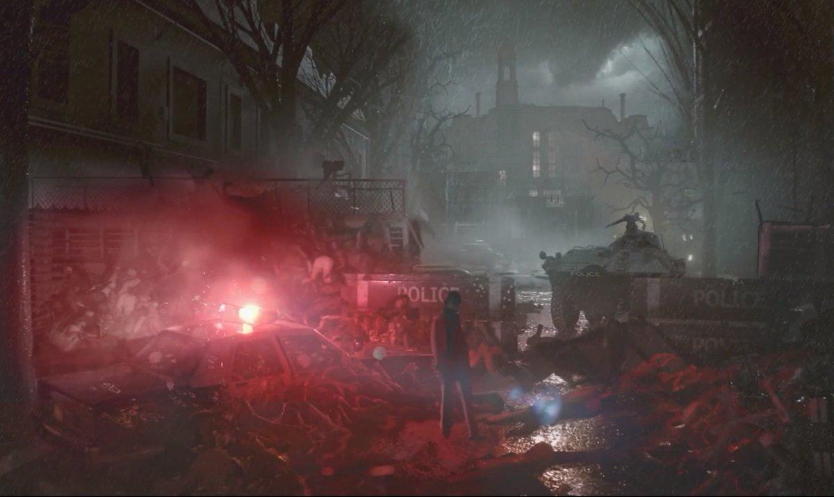 Tristan Cooper On Twitter Concept Art For The Resident Evil 2