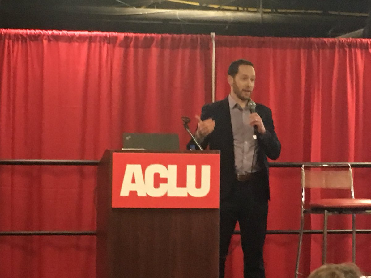 """States should not make wrongfully convicted people undo their own wrongful convictions.""  Legal Director Matt Segal ⁦@ACLU_Mass⁩ on the MA drug lab scandal. #DareToCreate"