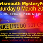 Image for the Tweet beginning: Any crime readers.  MysteryFest