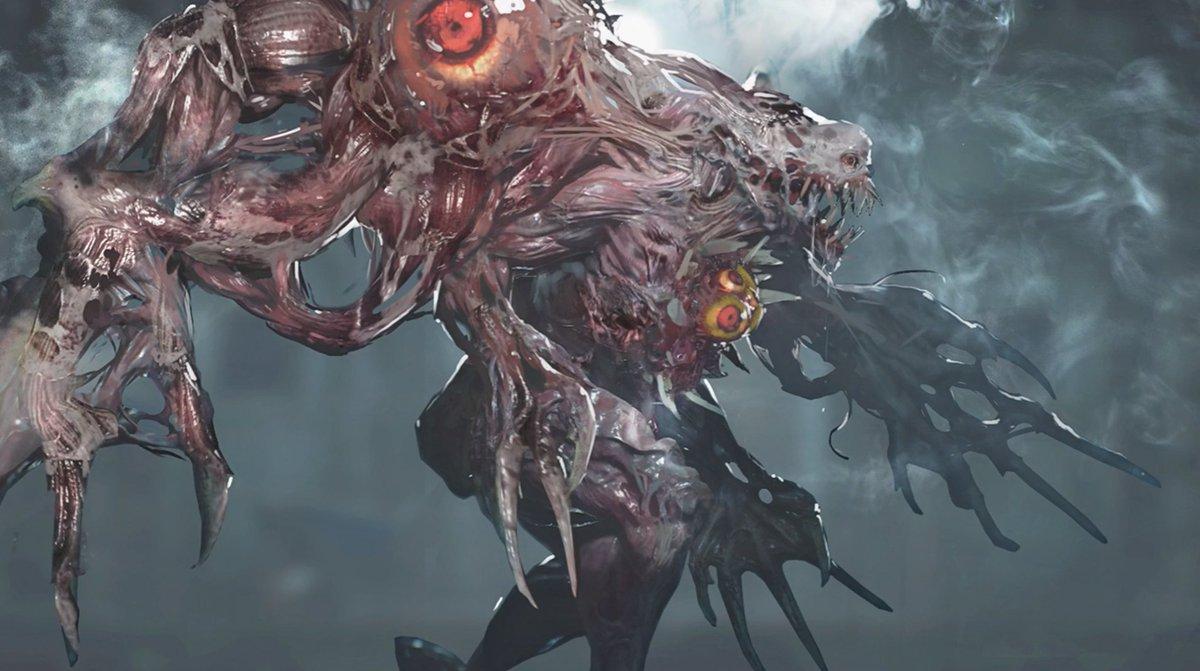 Tristan Cooper On Twitter Monster Concept Art For The Resident