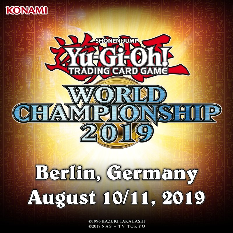 The 2019 #YuGiOh TRADING CARD GAME World Championship will be held in Berlin, Germany on August 10/11!  Begin your journey towards becoming a World Champion by taking part in WCQ: Regional Qualifiers!  North America: https://www.yugioh-card.com/en/events/regionals_locations.html… Latin America: https://www.yugioh-card.com/en/events/regionals_locations_lat-am.html…
