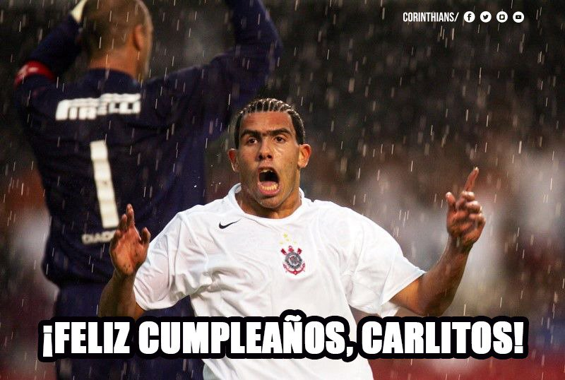 Corinthians's photo on Tevez