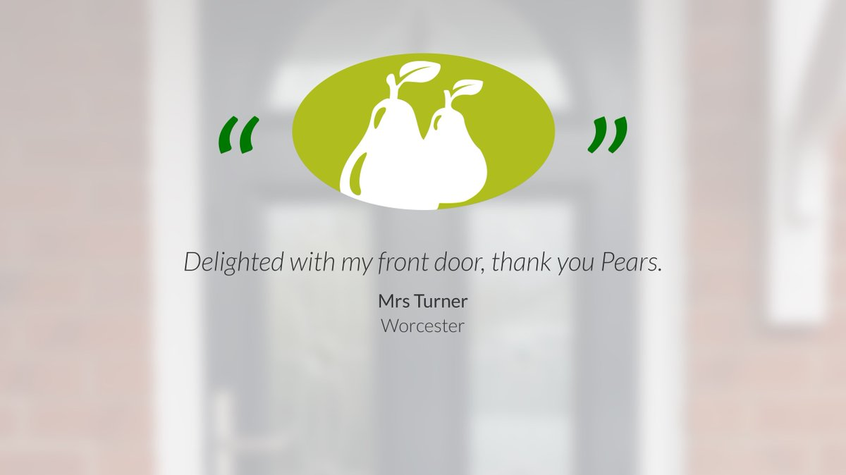 With over 55 years of experience, Which? Trusted Trader accredited status and an insurance backed guarantee you get complete peace of mind when choosing Pears Home Improvements to carry out any work on your home.  #WorcestershireHour