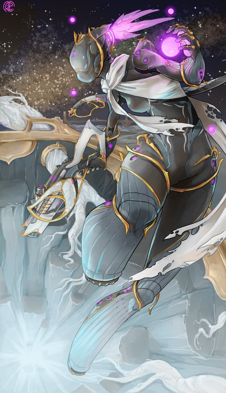 Warframe Nova Prime Fan Art : Warframe prime cyberpunk mma fan art deviantart superhero awesome fictional characters superheroes.