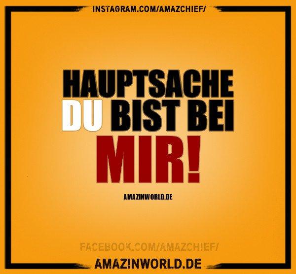 Amazinworld On Twitter Hauptsache Du Bist Bei Mir
