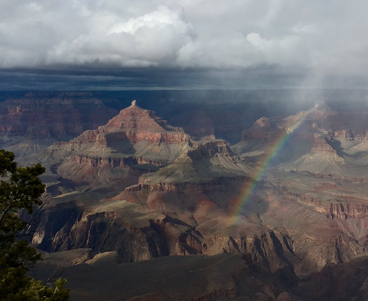 Grand Canyon Nps On Twitter Rain Sleet Snow This