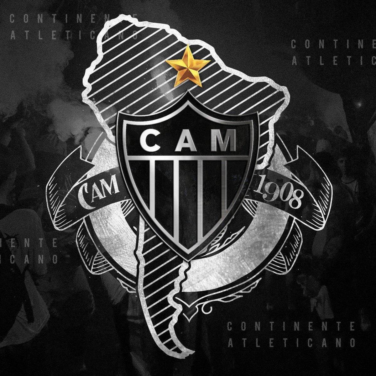 O CAMpeão da Libertadores (2013), Copa Conmebol (1992 e 1997) e Recopa Sul-Americana (2014) começa a luta por mais uma conquista continental!  Massa, vamos mostrar que a América é o #ContinenteAtleticano! Use a tag para enviar suas fotos e vídeos!  Vamos, #Galo! #EuAcredito 🏴🏳