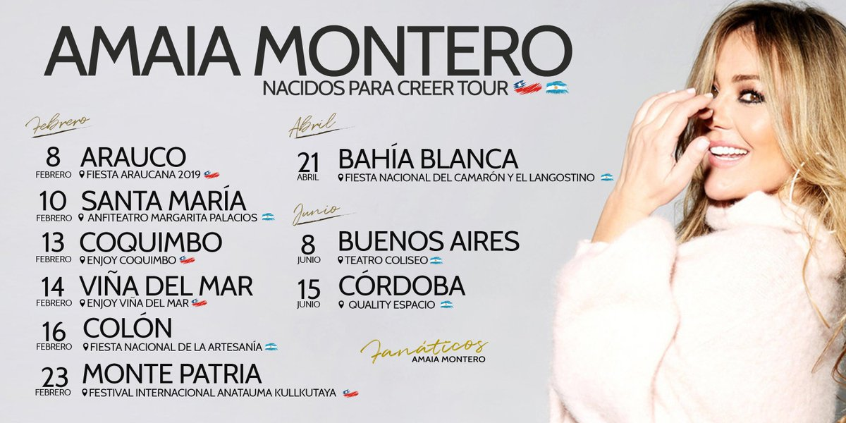 "Amaia Montero >> álbum ""Nacidos Para Creer"" (II) DymUC8aW0AA1q6Z"