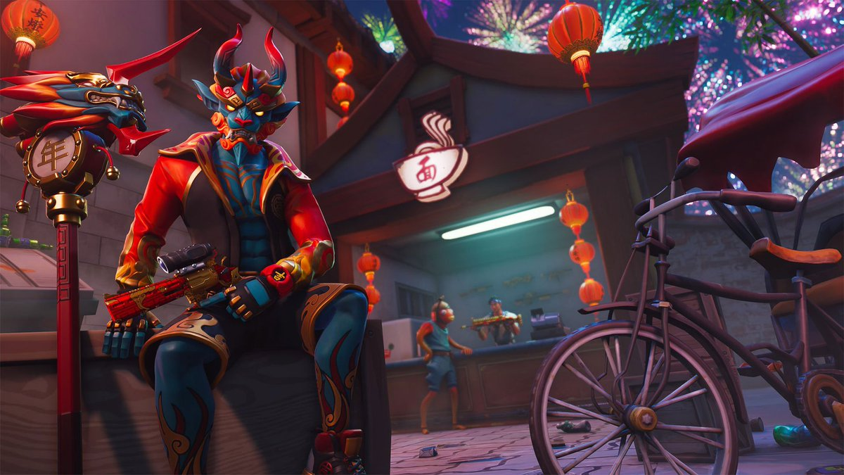 Pro Game Guides On Twitter Check Out These Sweet High Quality Wallpapers For Lunar New Year From Fortnitegame Lots More Wallpapers Can Be Found Here Https T Co Zqfpikoscf Fortnite Https T Co Ibjxjtgjvs