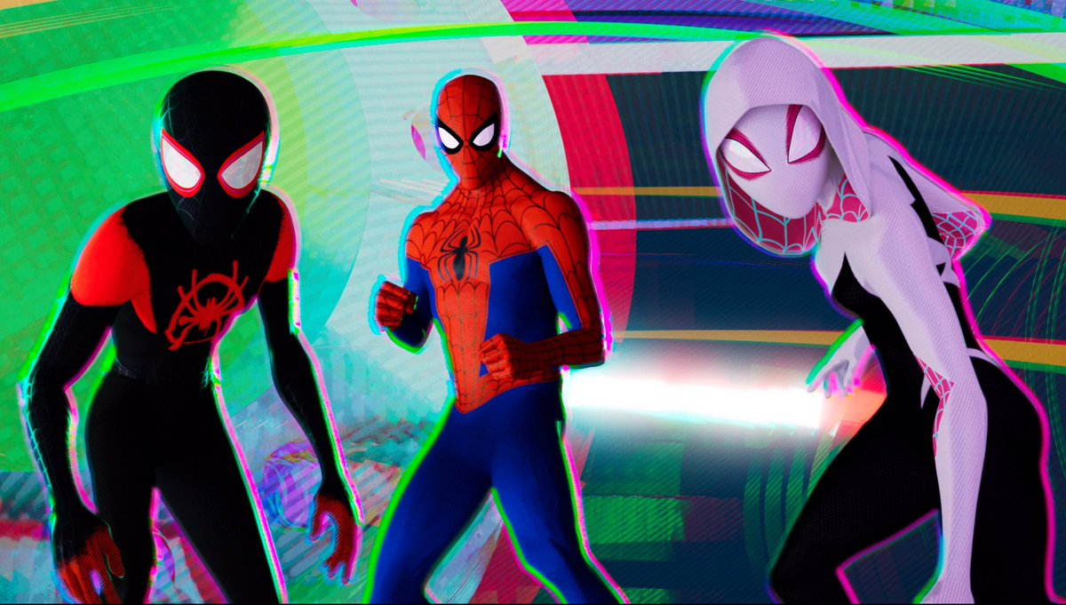 RETWEET if you think #SpiderMan Into the #Spiderverse deserves to WIN the OSCAR for BEST ANIMATED FEATURE!! @SpiderVerse