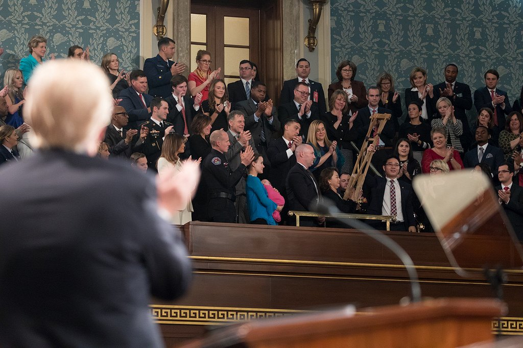 President @realDonaldTrump and @FLOTUS' #SOTU guests all come from different walks of life. No matter their story, each has something important in common: They represent the very best of America.  Meet the special guests: http://45.wh.gov/5yKBD8
