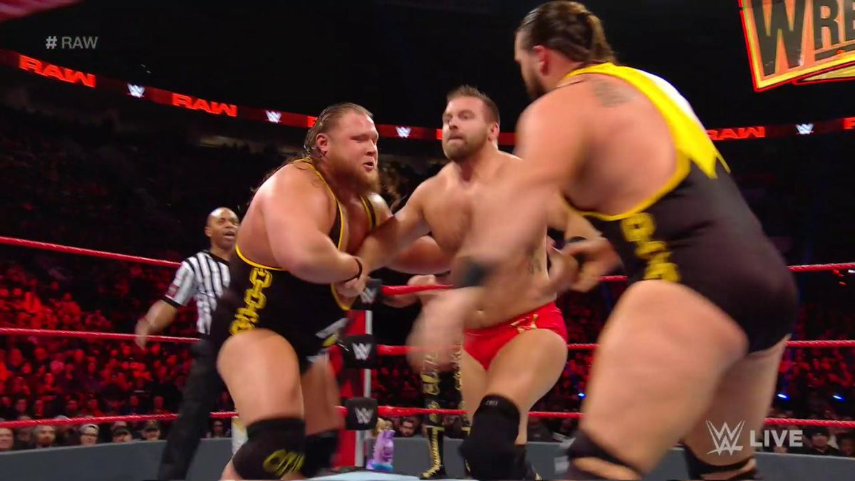 #HeavyMachinery is DOMINATING! But will it be enough to get into the conversation for the #TagTeamTitles on #Raw??