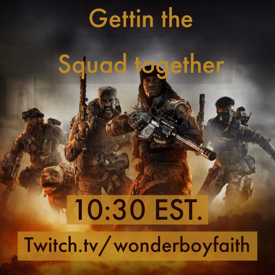 We killin it tonight http://twitch.tv/wonderboyfaith