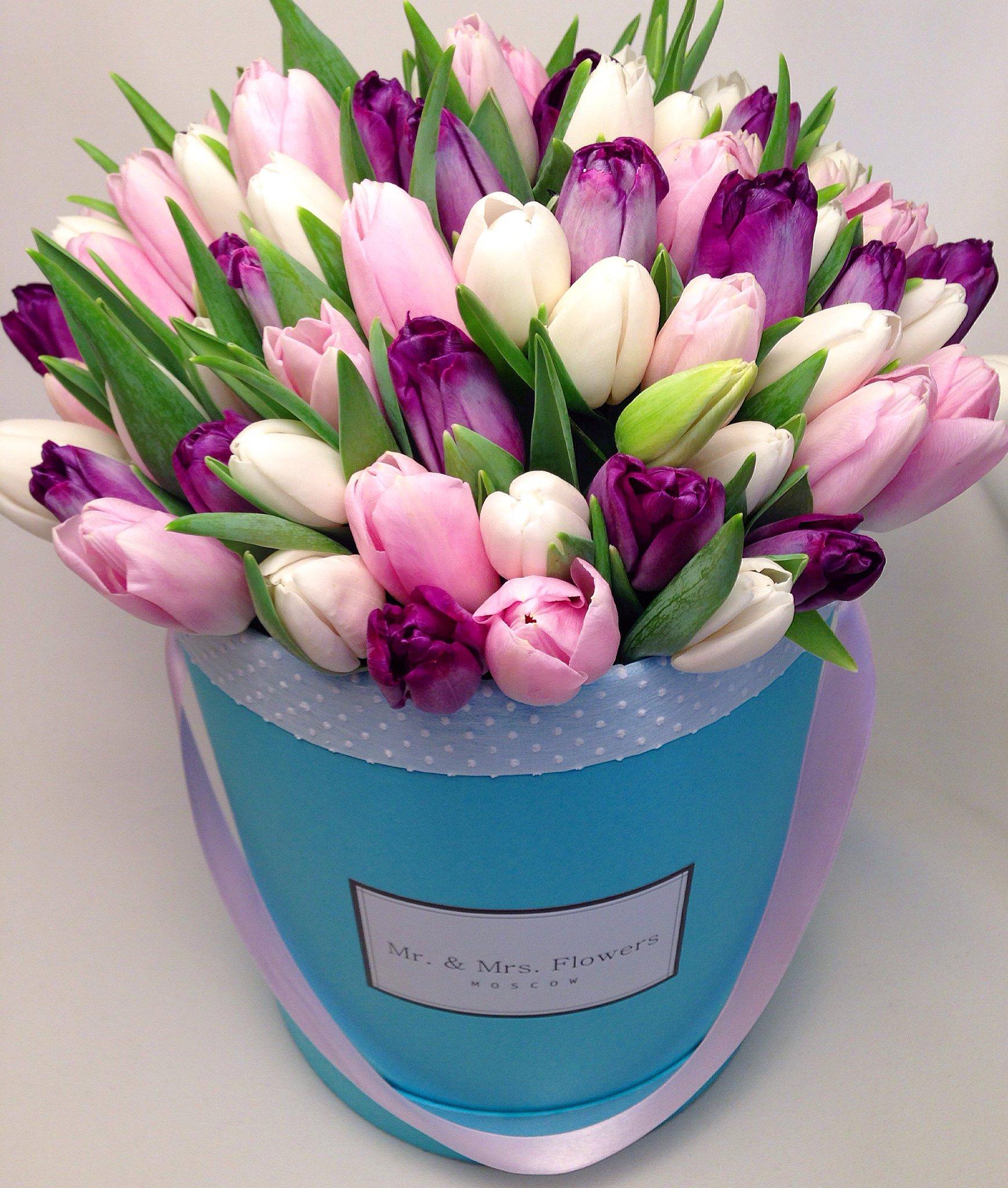 открытка с днем рождения красивый букет тюльпанов будет превращать тыквы