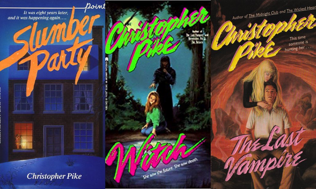 Everything You've Wanted to Ask Christopher Pike, and more Critical Linking: http://bit.ly/2UAfVWA