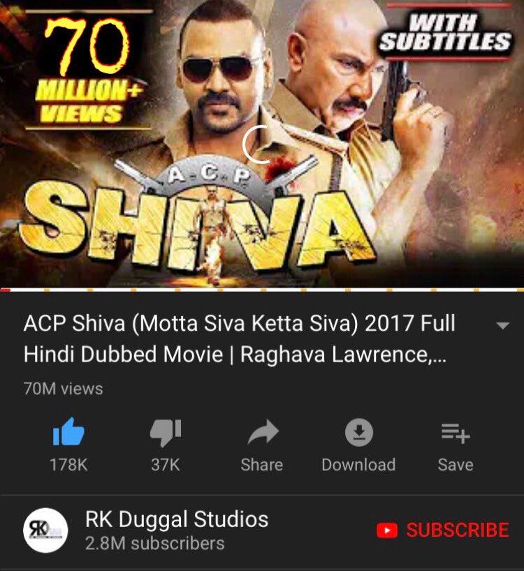 Raghava Lawrencce Fans On Twitter Acp Shiva Motta Siva Ketta Siva