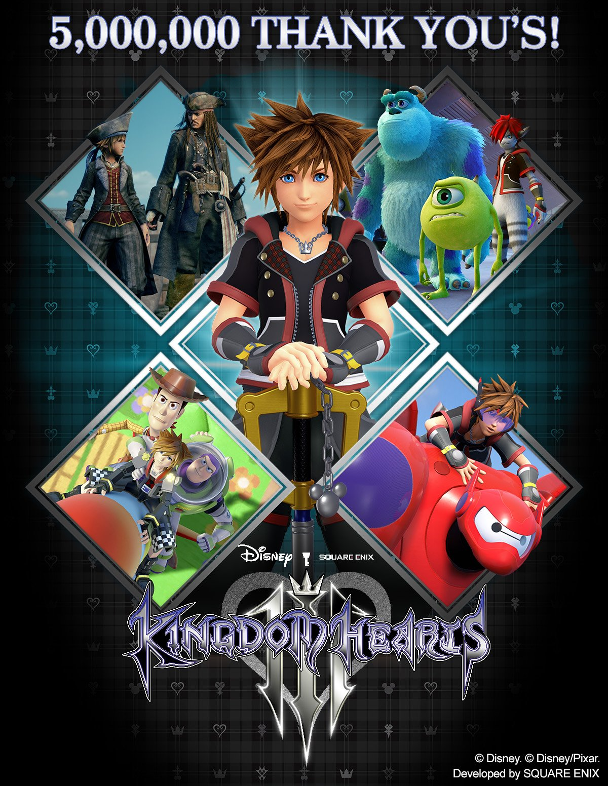 Kingdom Hearts III ships 5 million units worldwide