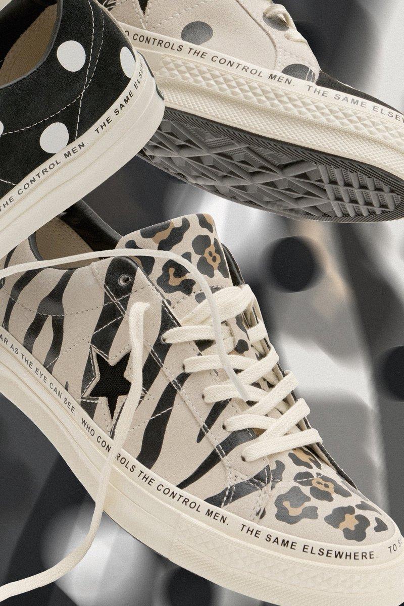 be92333c01888  SRP News    Converse x Brain Dead dévoile leur nouvelle collaboration  autour de l iconique One Star en imprimé léopard