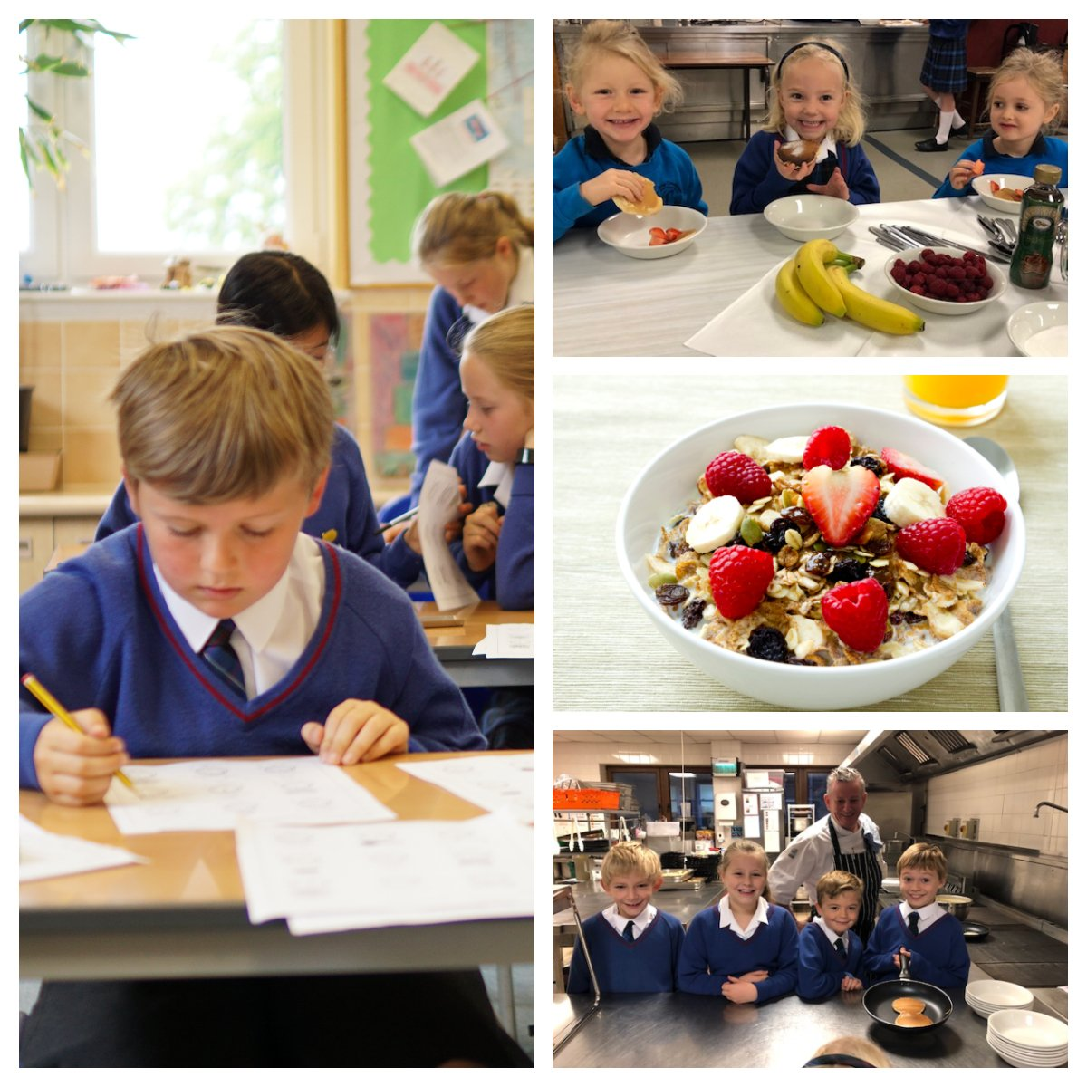 Craigclowan offers wraparound care for all pupils from 0730-1800 each day. From #breakfast at 0730 until Late Prep closes at 1800, school really is a hive of activity all day. Want to find out more? Come along to Open Morning on Thursday from 0900-1200. https://bit.ly/2B9IqTs
