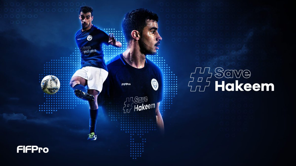 I'm hoping for a quick solution so Hakeem al-Araibi can go home to Australia. 🙏 #SaveHakeem