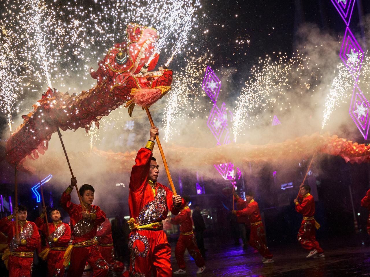 Картинки, китайские картинки на новый год