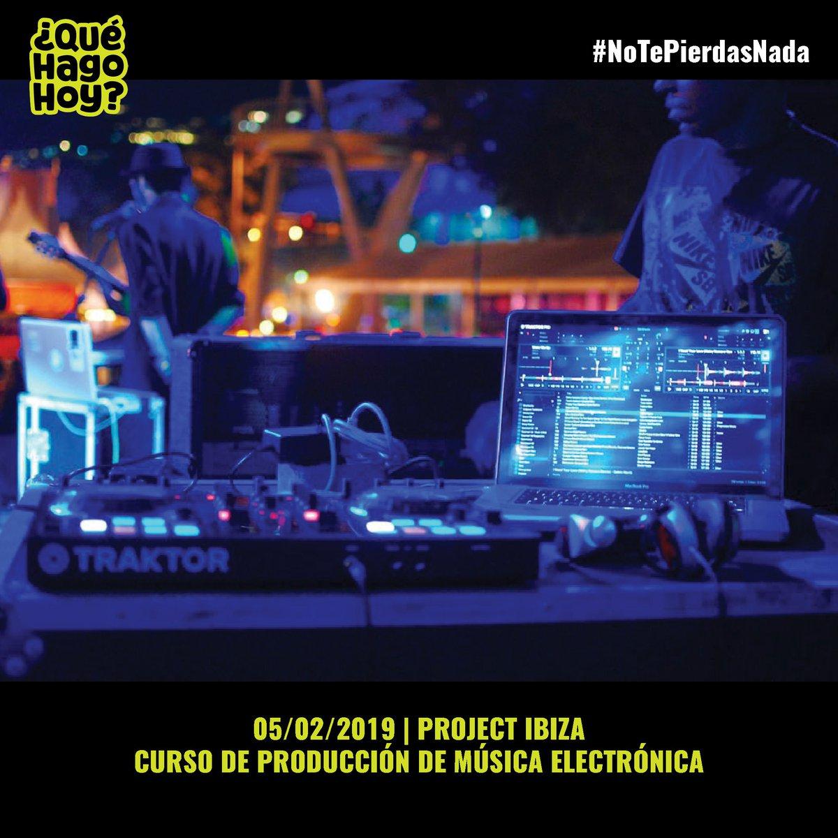 ¿Te gustaría producir tu propia música electrónica? ¿No sabes como empezar? Tenemos una solución para ti 👌🏽 Project Ibiza  organiza un curso de producción de música electrónica para novatos (y  no tanto). Quedan pocas plazas, así que reserva ya la tuya: 644 404 707 💥🔥