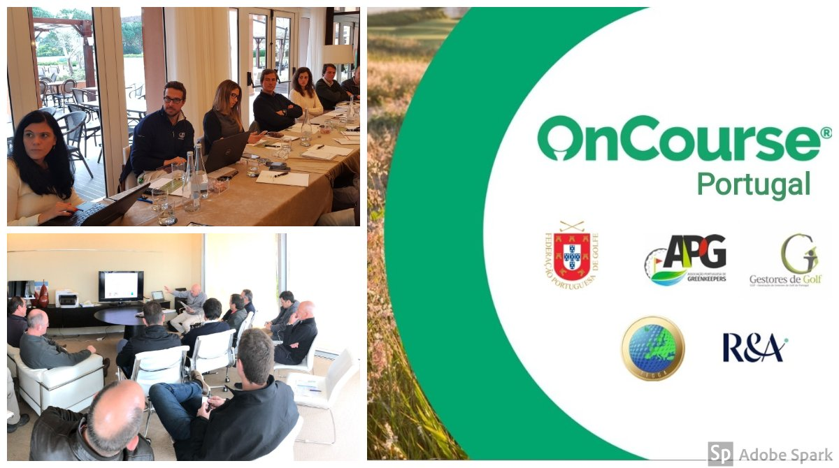 Looking back at the #OnCoursePortugal workshops. Thank you to all those who made it happen and those who have signed up to #getoncourse already - we look forward to furthering #sustainablegolf with you!  Interested? Find out more: http://getoncourse.golf