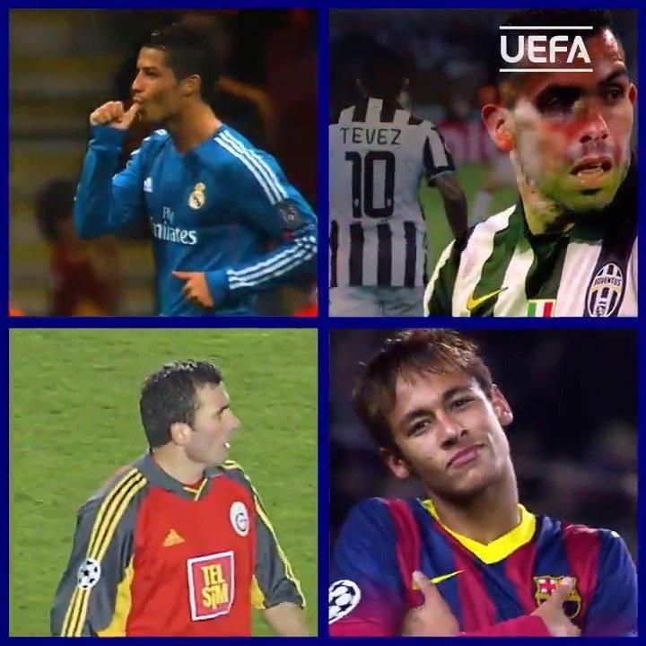 UEFA Champions League's photo on Tevez