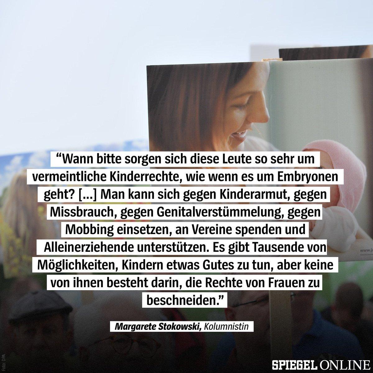 Spiegel Online On Twitter Warum Interessieren Lebensschützer Und