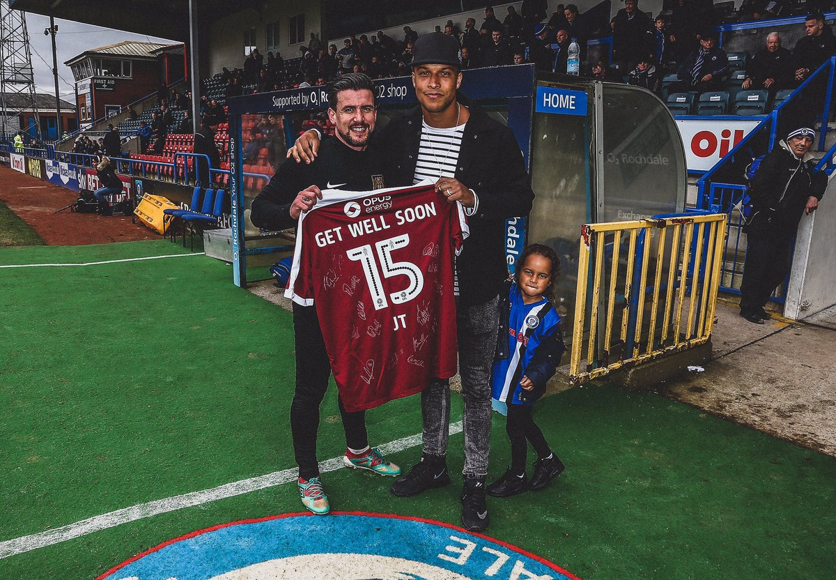 🏴󠁧󠁢󠁥󠁮󠁧󠁿 @JJL_Thompson announces his retirement from football. 🏟 235 Games ⚽ 26 Goals 🎯 16 Assists 💪 Overcame cancer. 🏃‍♂ Made his return to football. 💪 Overcame cancer again. ⚽ Scored THAT goal that kept @OfficiallyDale in @SkyBetLeagueOne. 👏 An inspiration to the game.