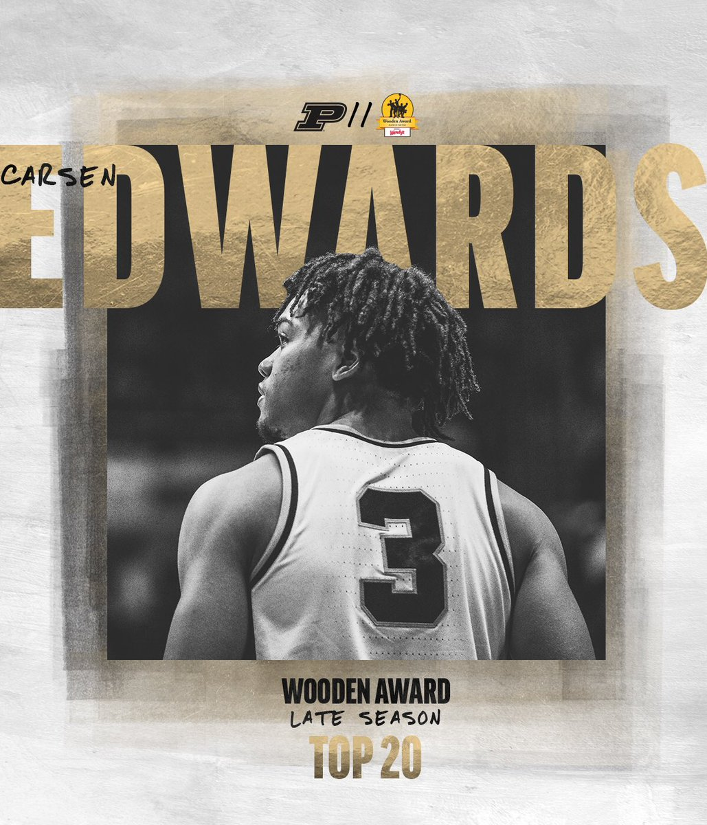Purdue Mens Basketball On Twitter Another One Named To The
