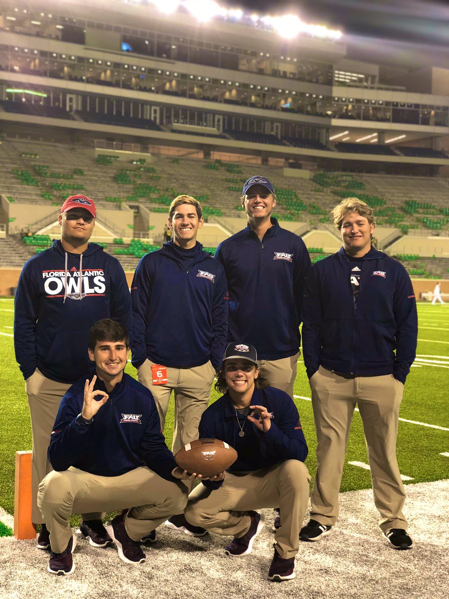 WE ARE HIRING!! Once in a lifetime opportunity to work with an amazing football team. Also will be alongside some 🔥🔥🔥 guys (pictured below). If interested in applying please email nhinkley@fau.edu