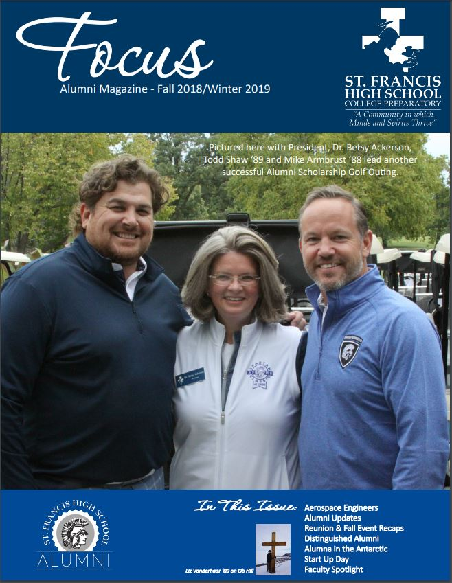 Follow this link for the latest issue of Focus - the alumni magazine:  https://www.sfhscollegeprep.org/page/alumni/focus-magazine…