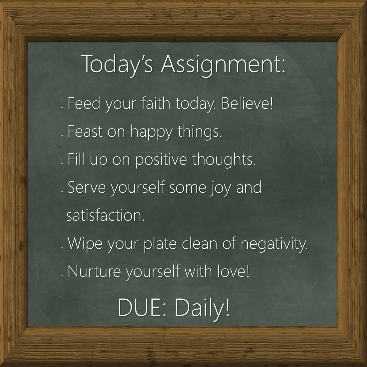 Your assignment today, should you choose to accept it. ~ S.R.F. #letstalkaboutfaith https://faithishowwelive.blogspot.com/2019/02/your-assignment.html…