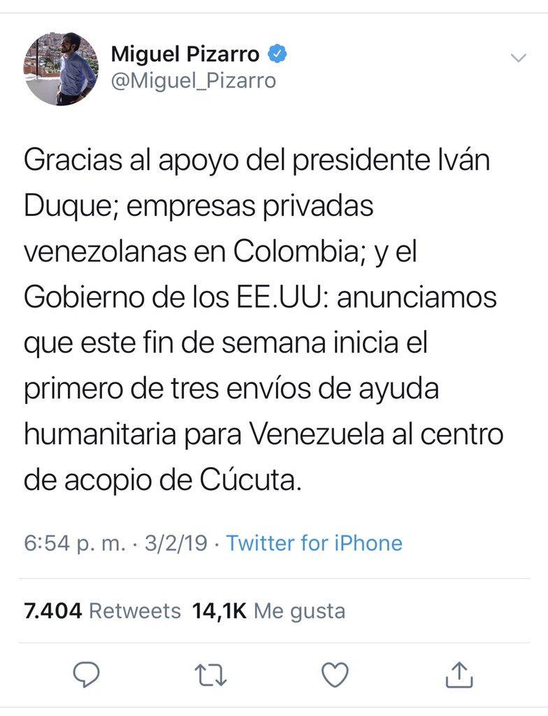 Maduro: Si algo me pasa, ¡retomen el poder y hagan una revolución más radical! - Página 6 DypJBKgW0AED4Oe
