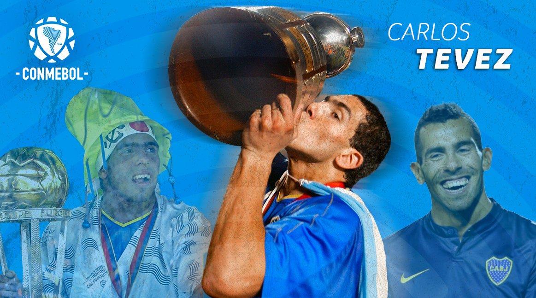 CONMEBOL.com's photo on Tevez