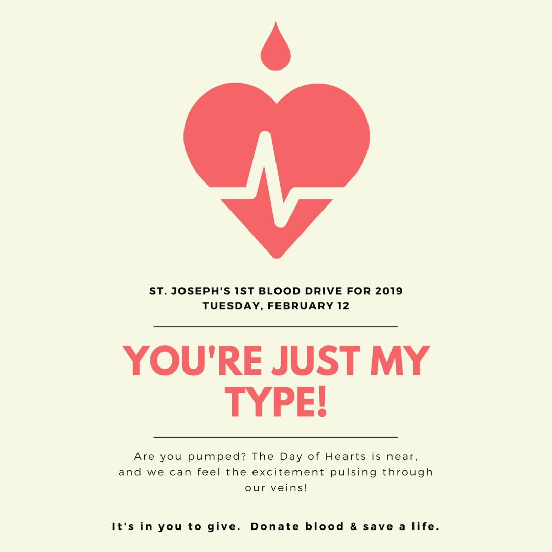 Hey Lasers! The first Blood Drive of 2019 is coming up NEXT TUESDAY! Sign-ups are happening everyday this week in the atrium during lunch. You must be 17 years or older! If you do not meet this requirement, ask a parent/sibling to donate on your behalf for a dress down!