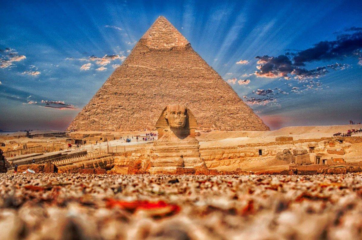 все картинка с пирамидами поздравление виде открытки