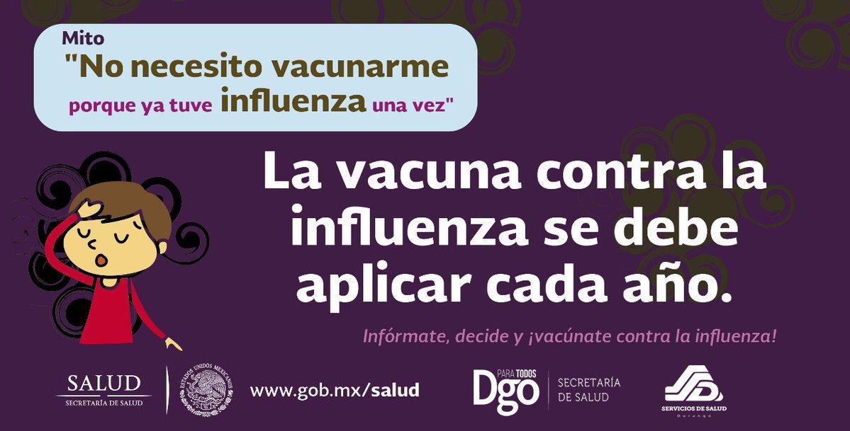 Secretaría De Salud On Twitter La Vacuna Contra La