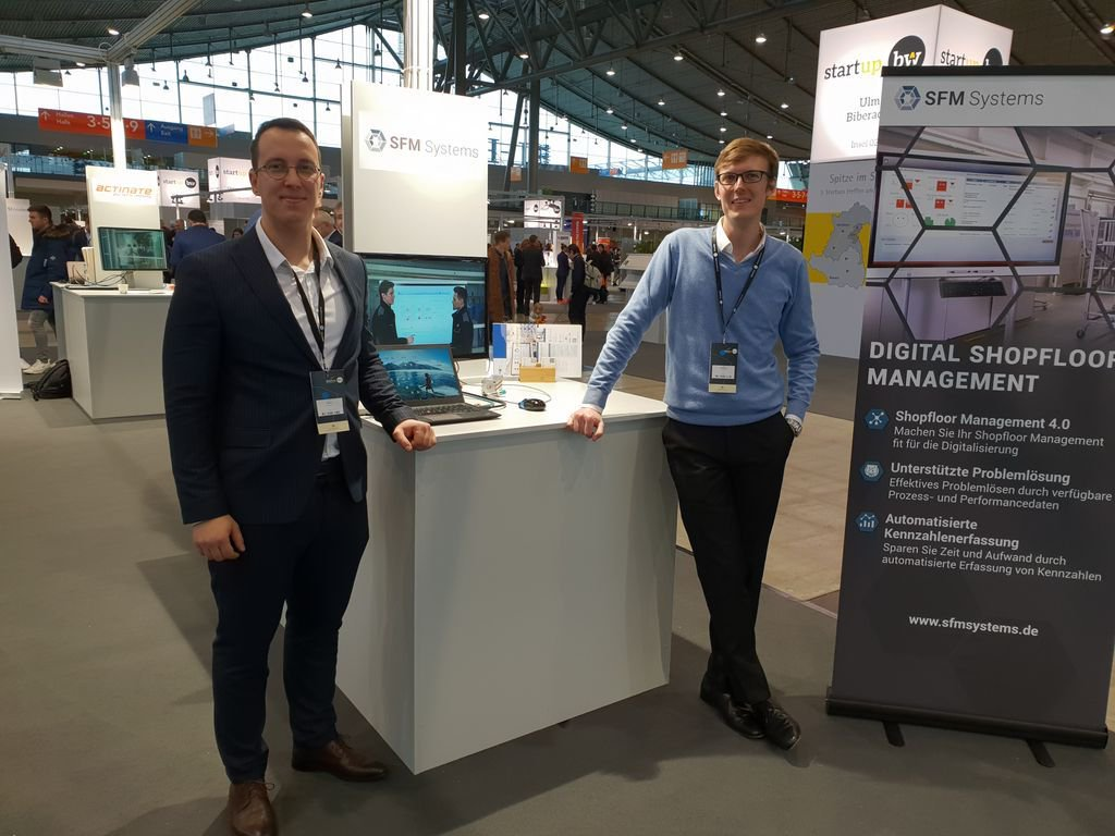 We had a good day at the @Startup_BW Summit in Stuttgart. We met a lot of new people and made great connections. Looking forward for the #Lean Konferenz in #Frankfurt. @IHK_FFM