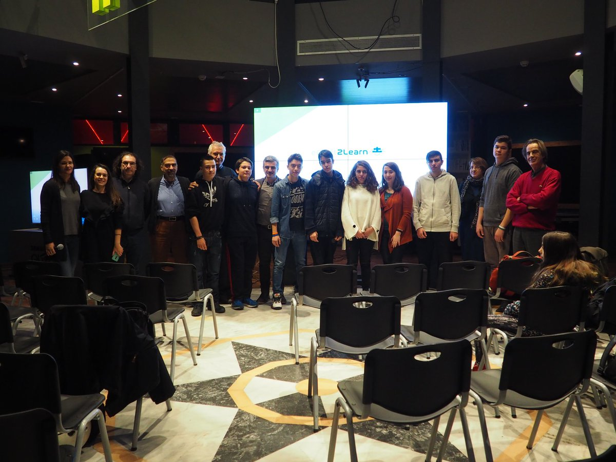 test Twitter Media - Happy snaps 📸 from our closing event @InnovAthens organised by our partners EDUMOTIVA & Technopolis.   Both partners have initiated the procedure for accrediting the pilot site as a maker lab ✔️ where they will be offering more training courses to teachers & students. 🏆 https://t.co/5BrdoREHrS