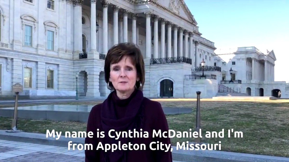 Meet Cynthia: a proud Missourian and leader in the fight to end the multiemployer pension crisis. Here's her story: