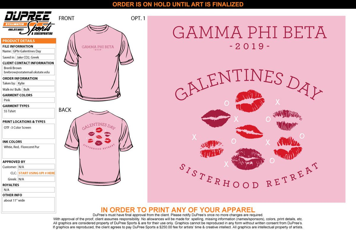 Galentines Day Sisterhood Retreat shirts!!! Order closes the 11th at midnight! ❣️💕🥰   https://gphigalentines2019.itemorder.com/
